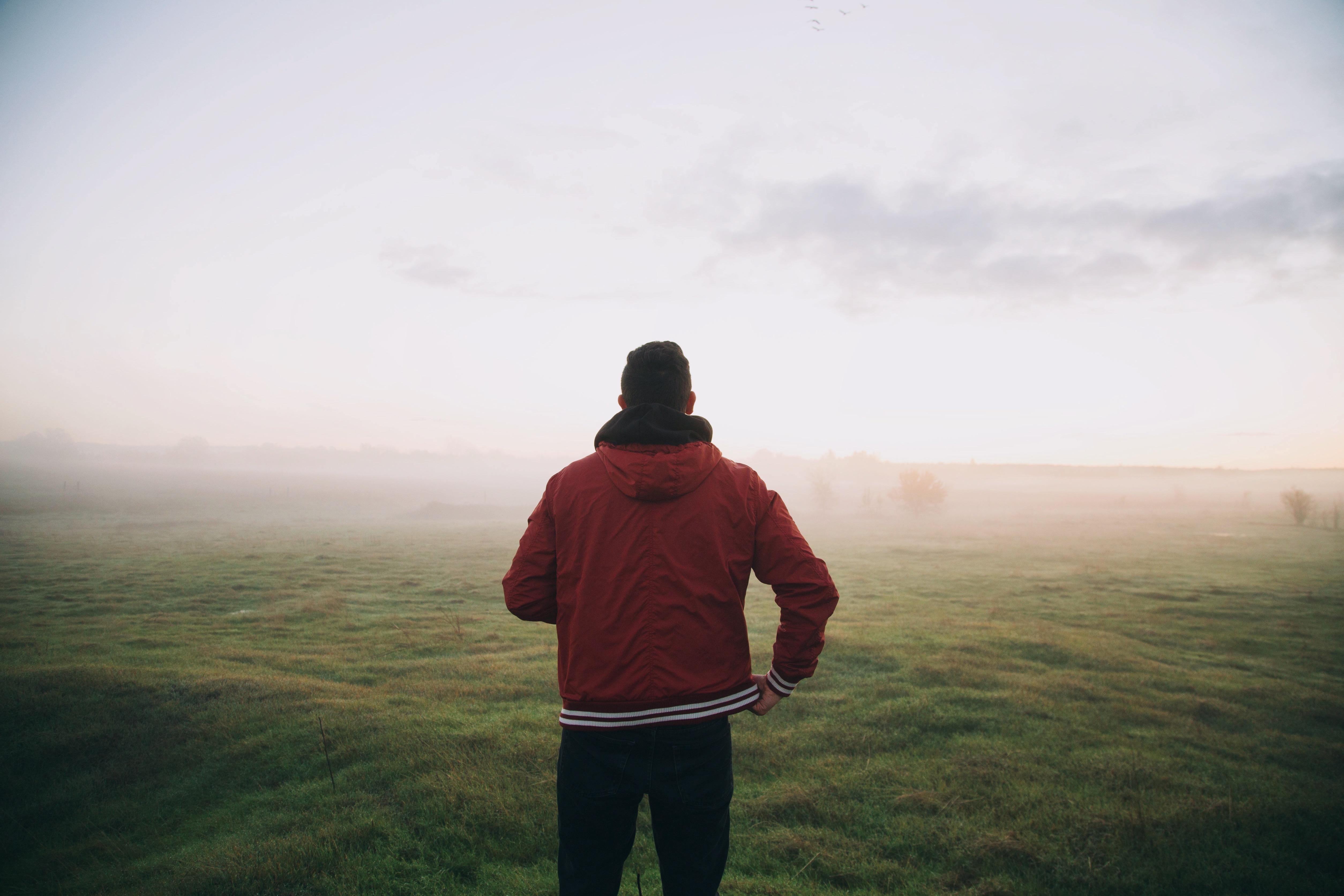 Foggy Meadow Man
