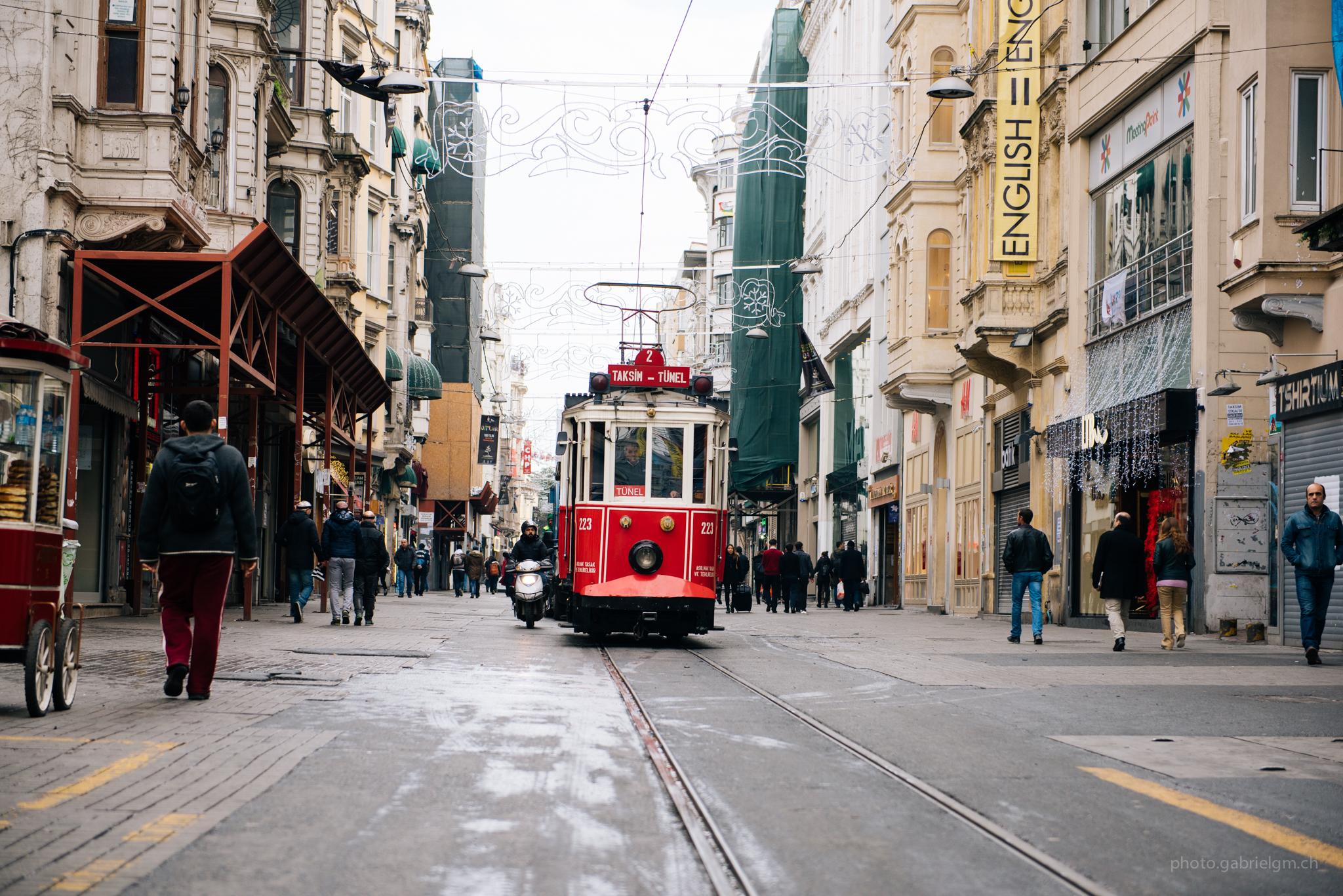 Taksim-Tünel Nostalgia Tramway