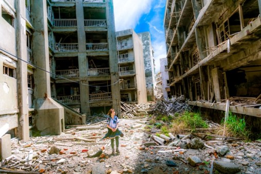 The Student of Gunkanjima